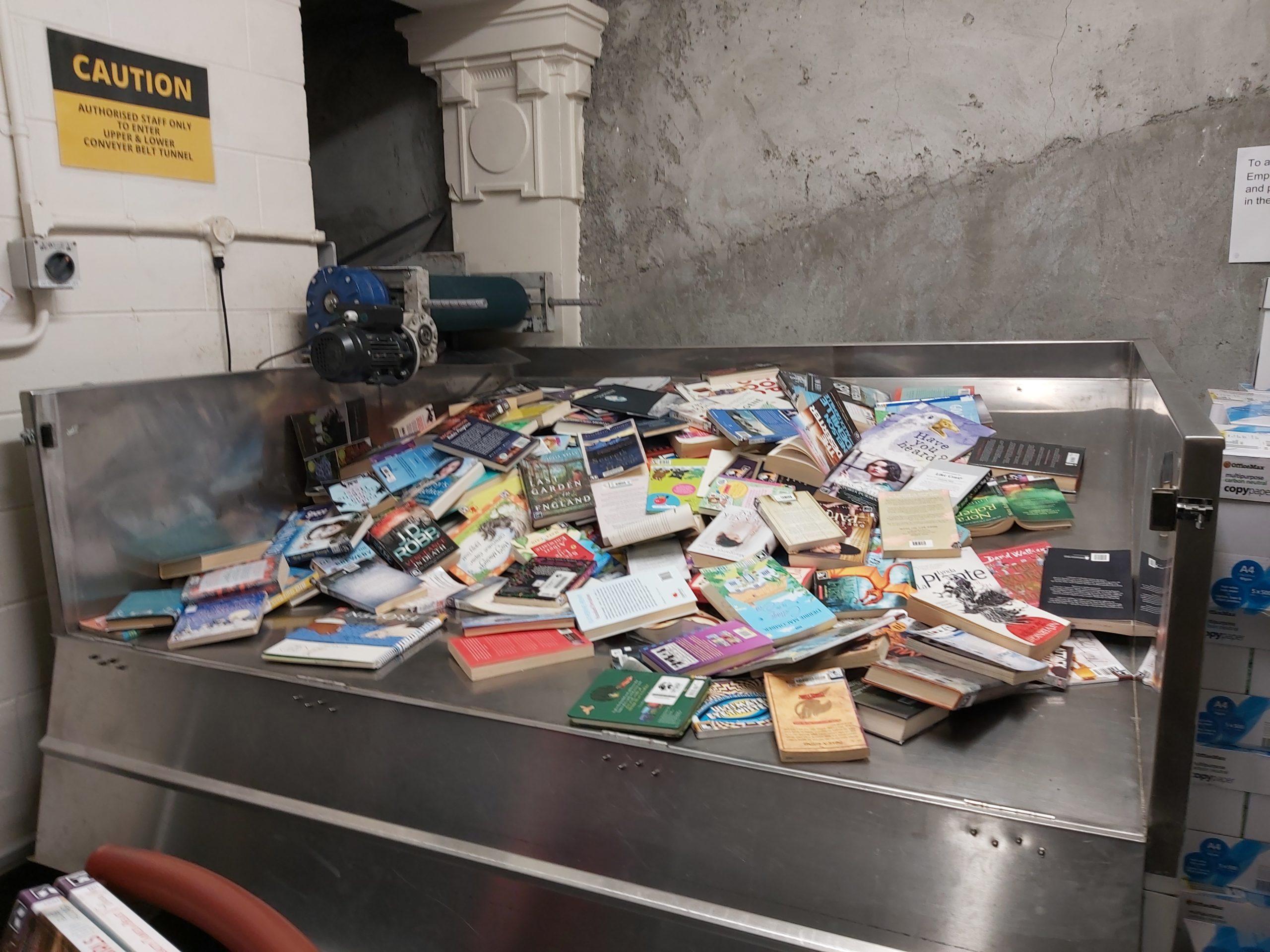 Image for Books returned after lockdown