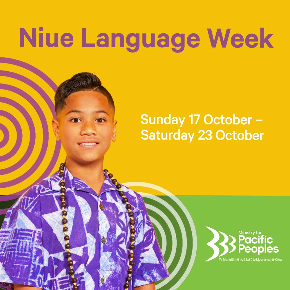 Image for Niue Language Week